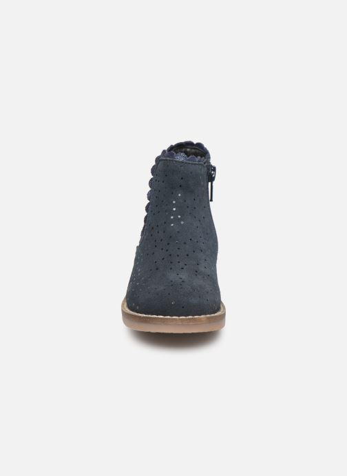 Bottines et boots I Love Shoes KELCY LEATHER Bleu vue portées chaussures