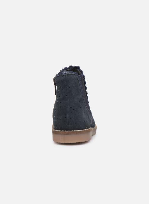 Bottines et boots I Love Shoes KELCY LEATHER Bleu vue droite
