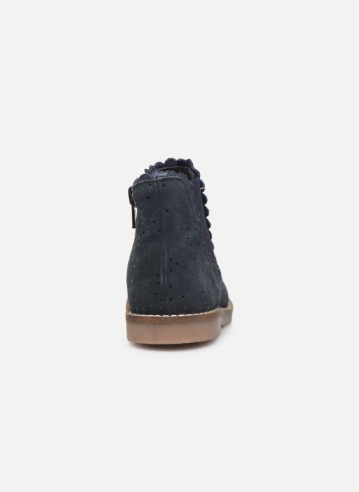 Botines  I Love Shoes KELCY LEATHER Azul vista lateral derecha