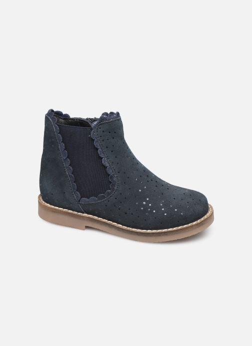 Bottines et boots I Love Shoes KELCY LEATHER Bleu vue détail/paire
