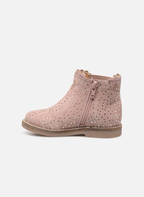 Stivaletti e tronchetti I Love Shoes KELCY LEATHER Rosa immagine frontale