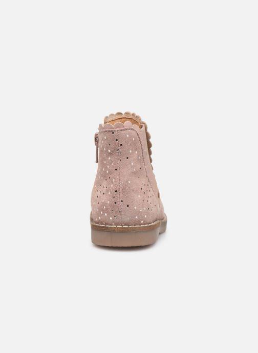 Bottines et boots I Love Shoes KELCY LEATHER Rose vue droite