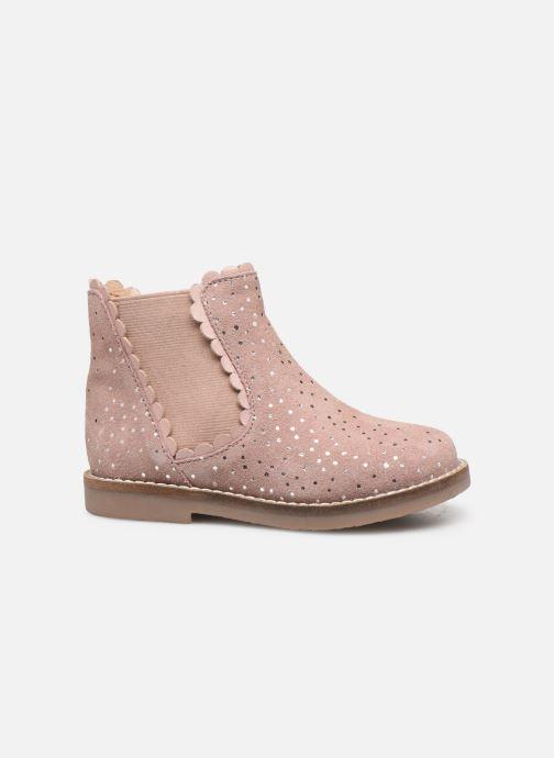 Bottines et boots I Love Shoes KELCY LEATHER Rose vue derrière