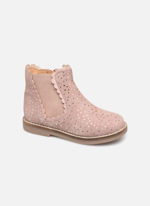 Ankelstøvler I Love Shoes KELCY LEATHER Pink detaljeret billede af skoene