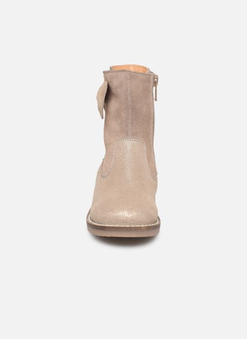 Stivali I Love Shoes KEICHA LEATHER Fourrée Beige modello indossato