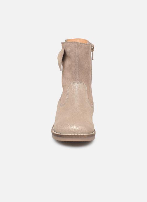 Bottes I Love Shoes KEICHA LEATHER Fourrée Beige vue portées chaussures