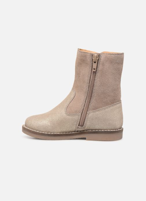 Botas I Love Shoes KEICHA LEATHER Fourrée Beige vista de frente