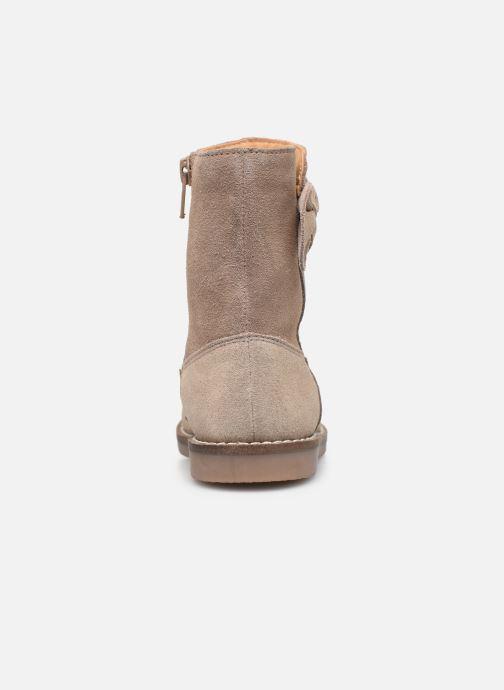 Botas I Love Shoes KEICHA LEATHER Fourrée Beige vista lateral derecha
