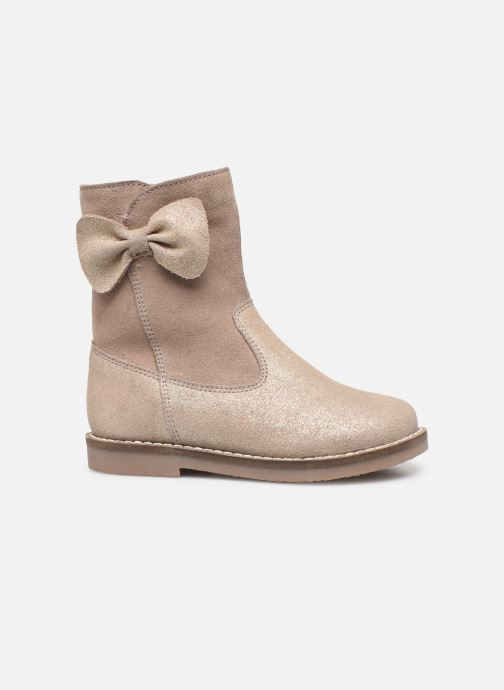 Boots & wellies I Love Shoes KEICHA LEATHER Fourrée Beige back view