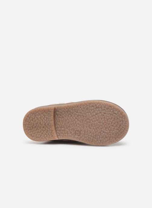 Bottes I Love Shoes KEICHA LEATHER Fourrée Beige vue haut