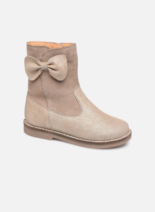 Bottes I Love Shoes KEICHA LEATHER Fourrée Beige vue détail/paire