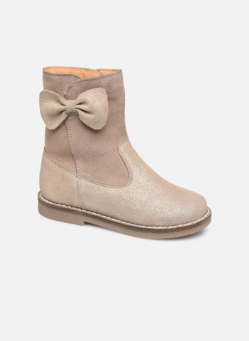 Boots & wellies I Love Shoes KEICHA LEATHER Fourrée Beige detailed view/ Pair view