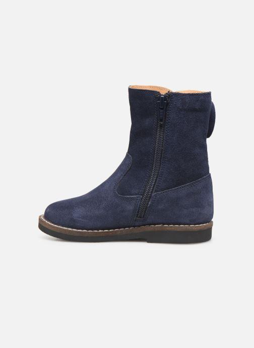 Laarzen I Love Shoes KEICHA LEATHER Fourrée Blauw voorkant