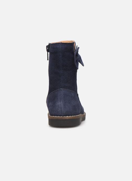 Bottes I Love Shoes KEICHA LEATHER Fourrée Bleu vue droite
