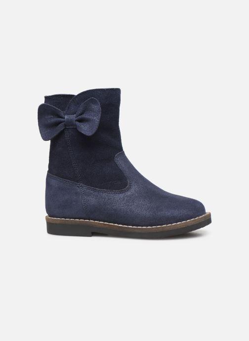Bottes I Love Shoes KEICHA LEATHER Fourrée Bleu vue derrière