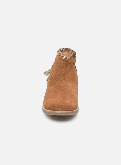 Stivaletti e tronchetti I Love Shoes KEUBRA LEATHER Marrone modello indossato