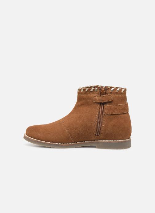 Boots en enkellaarsjes I Love Shoes KEUBRA LEATHER Bruin voorkant