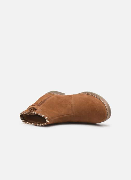 Boots en enkellaarsjes I Love Shoes KEUBRA LEATHER Bruin links
