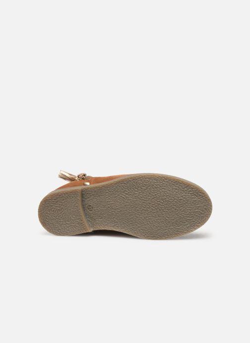 Boots en enkellaarsjes I Love Shoes KEUBRA LEATHER Bruin boven
