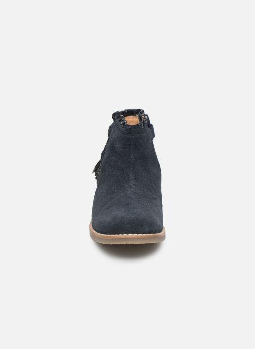 Stivaletti e tronchetti I Love Shoes KEUBRA LEATHER Azzurro modello indossato