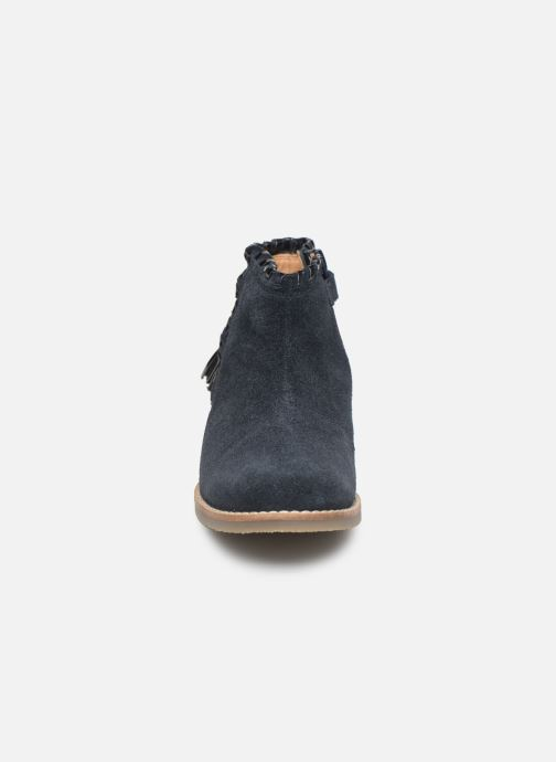 Botines  I Love Shoes KEUBRA LEATHER Azul vista del modelo