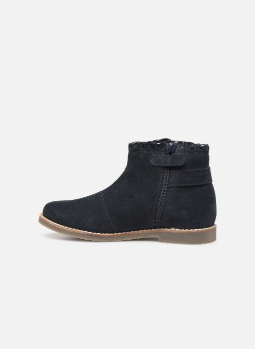 Ankle boots I Love Shoes KEUBRA LEATHER Blue front view