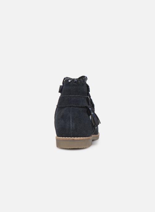 Ankelstøvler I Love Shoes KEUBRA LEATHER Blå Se fra højre