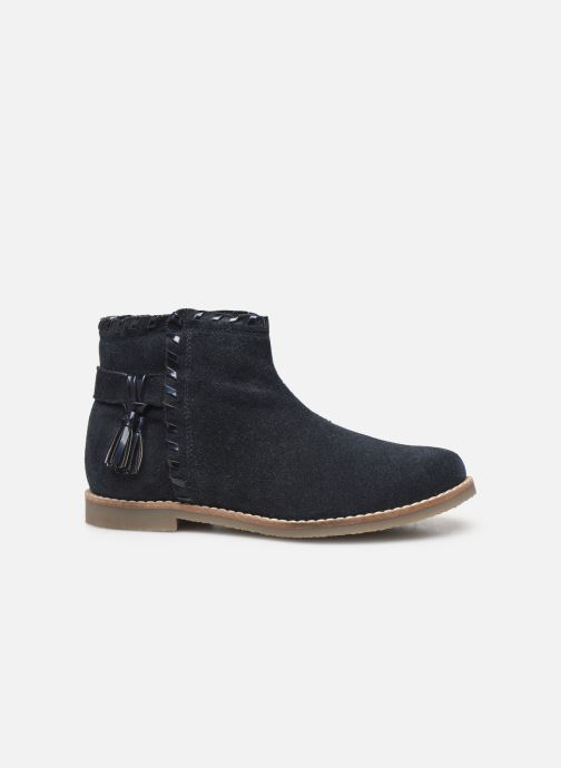 Ankle boots I Love Shoes KEUBRA LEATHER Blue back view