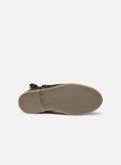 Stivaletti e tronchetti I Love Shoes KEUBRA LEATHER Azzurro immagine dall'alto