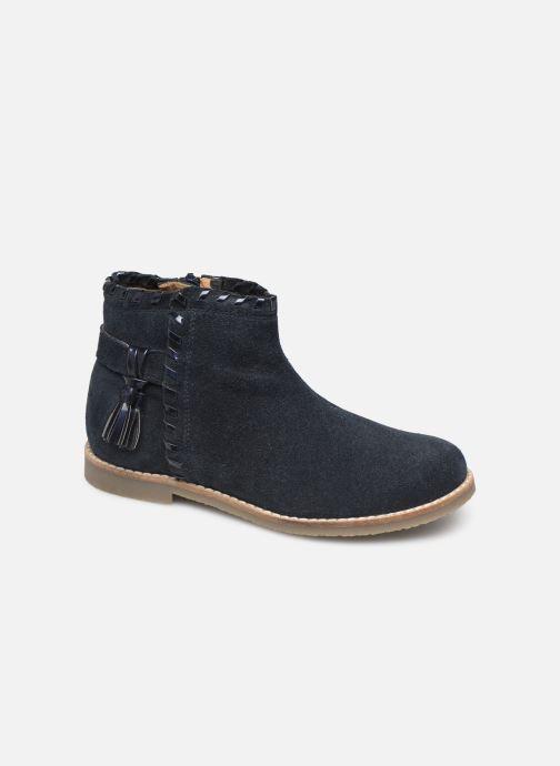 Ankelstøvler I Love Shoes KEUBRA LEATHER Blå detaljeret billede af skoene
