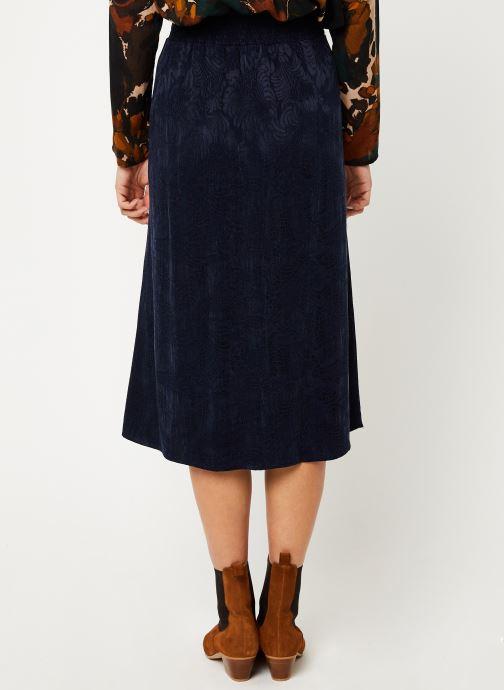 Vêtements Louizon Jupe Wimona Bleu vue portées chaussures