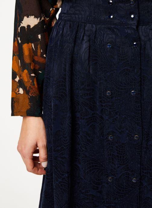 Vêtements Louizon Jupe Wimona Bleu vue face