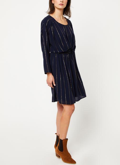 Vêtements Louizon Robe Seraphine Bleu vue bas / vue portée sac