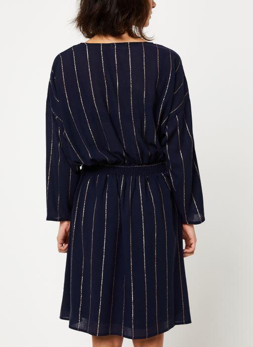 Vêtements Louizon Robe Seraphine Bleu vue portées chaussures