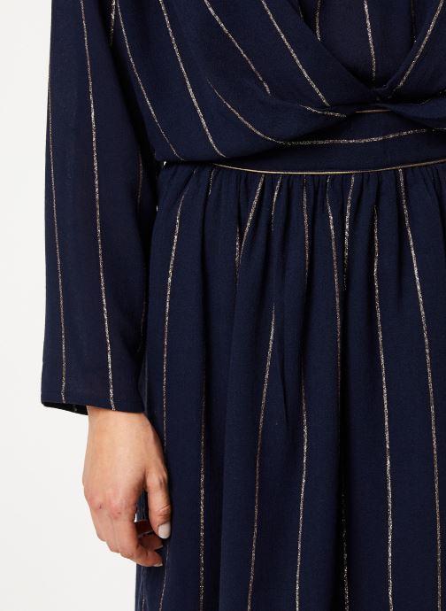 Vêtements Louizon Robe Seraphine Bleu vue face