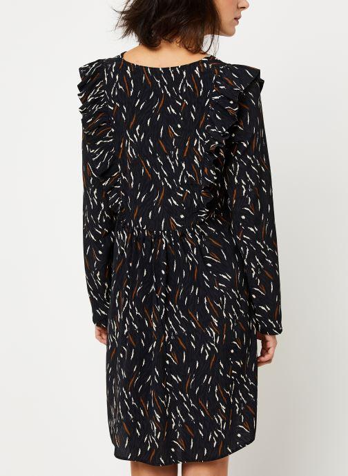 Vêtements Louizon Robe Willemina Noir vue portées chaussures