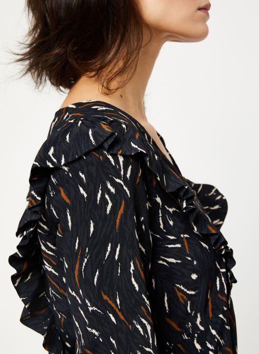 Vêtements Louizon Robe Willemina Noir vue face
