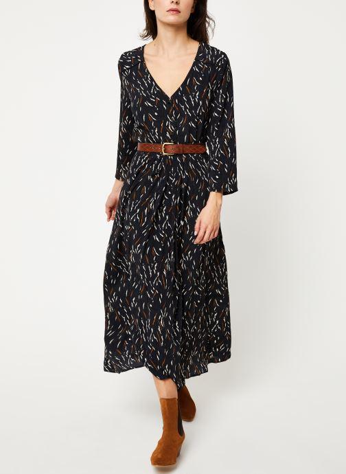 Vêtements Louizon Robe Wavy Noir vue bas / vue portée sac