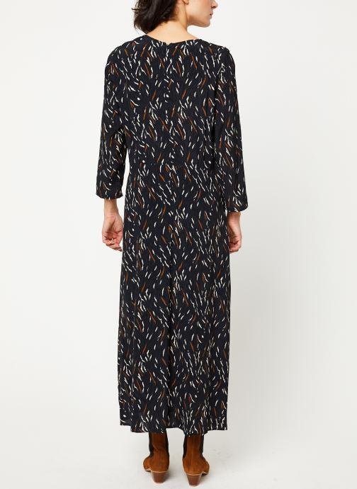 Vêtements Louizon Robe Wavy Noir vue portées chaussures