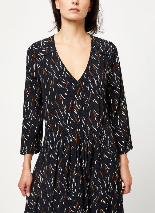Vêtements Louizon Robe Wavy Noir vue droite