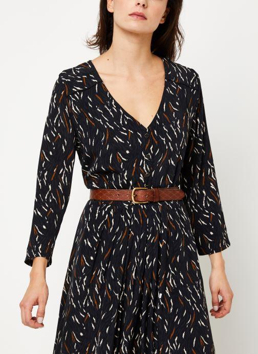 Vêtements Louizon Robe Wavy Noir vue détail/paire