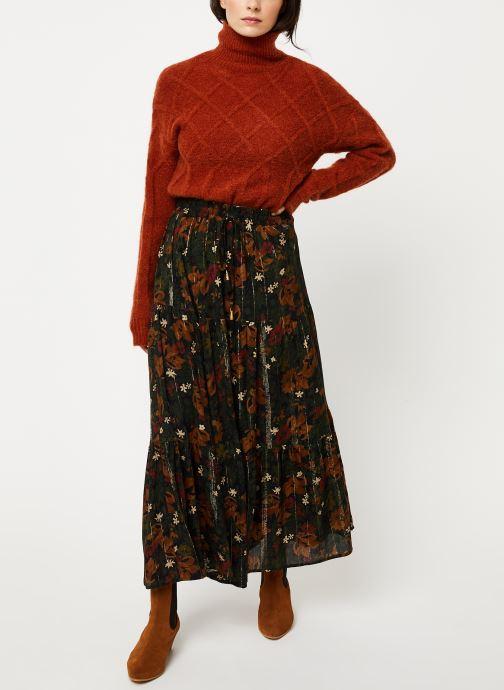 Vêtements Louizon Jupe Moore Marron vue bas / vue portée sac