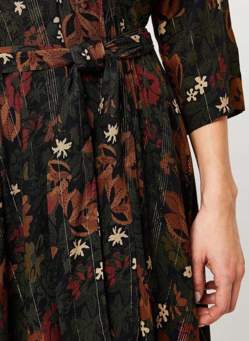Vêtements Louizon Robe Mantegna Marron vue face