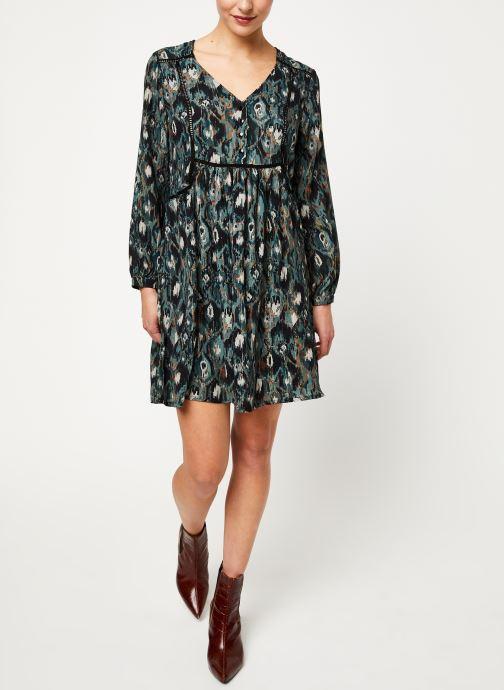 Vêtements Louizon Robe Nonna Bleu vue bas / vue portée sac