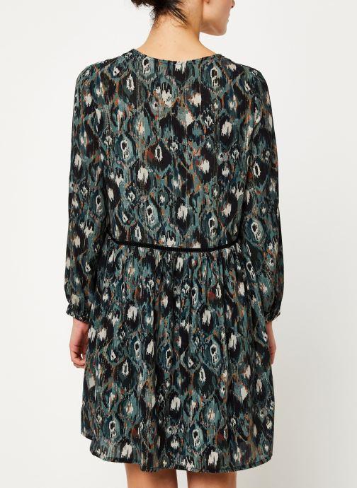 Vêtements Louizon Robe Nonna Bleu vue portées chaussures
