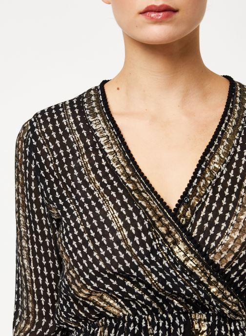 Vêtements Louizon Robe Vidi Noir vue face