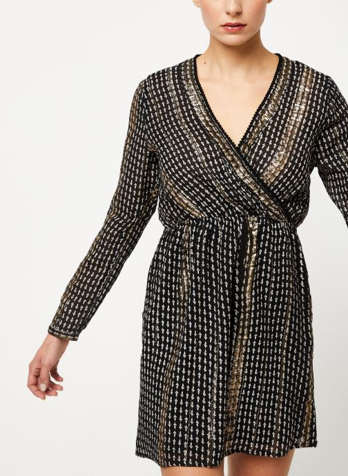 Vêtements Louizon Robe Vidi Noir vue détail/paire