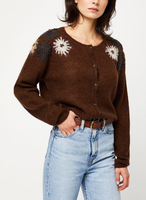 Vêtements Louizon Gilet Elsa Marron vue détail/paire