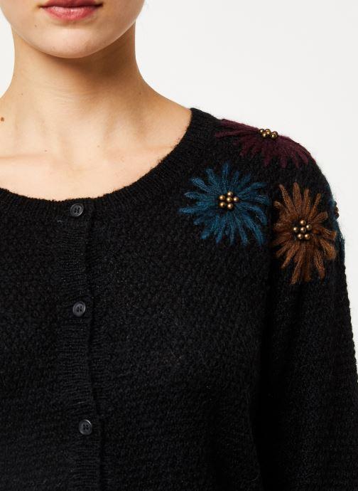 Vêtements Louizon Gilet Elsa Noir vue face