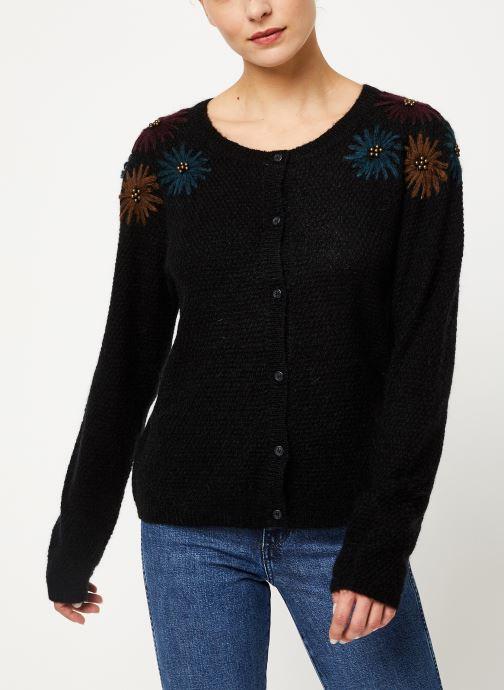 Vêtements Louizon Gilet Elsa Noir vue droite